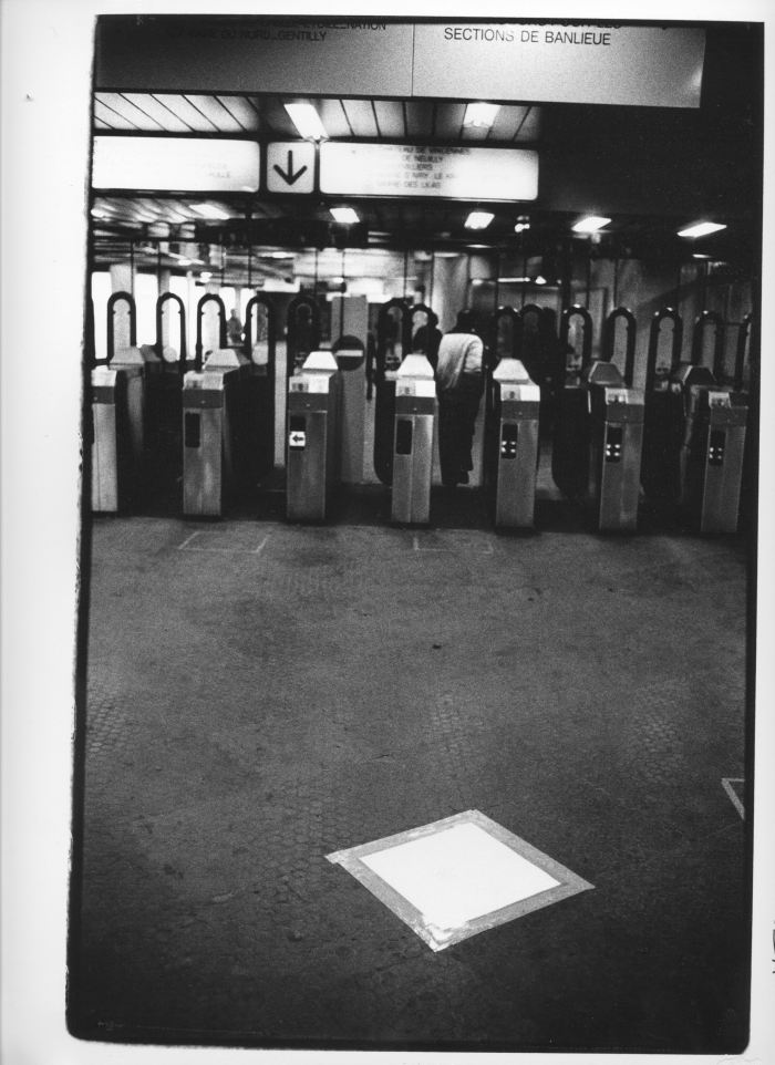 Vitagraphies métro Paris.